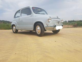 SEAT 600 1962 RESTAURADO TOTAL
