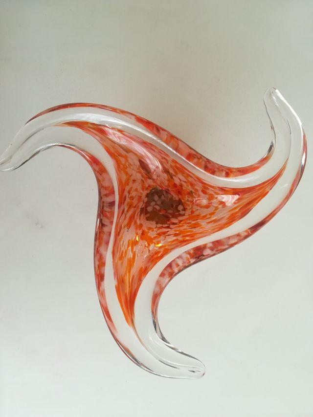 centro de mesa (cristal de murano)
