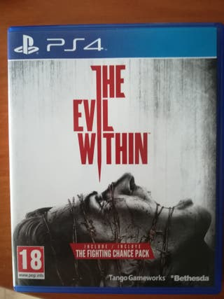 The Evil Whitin Ps4