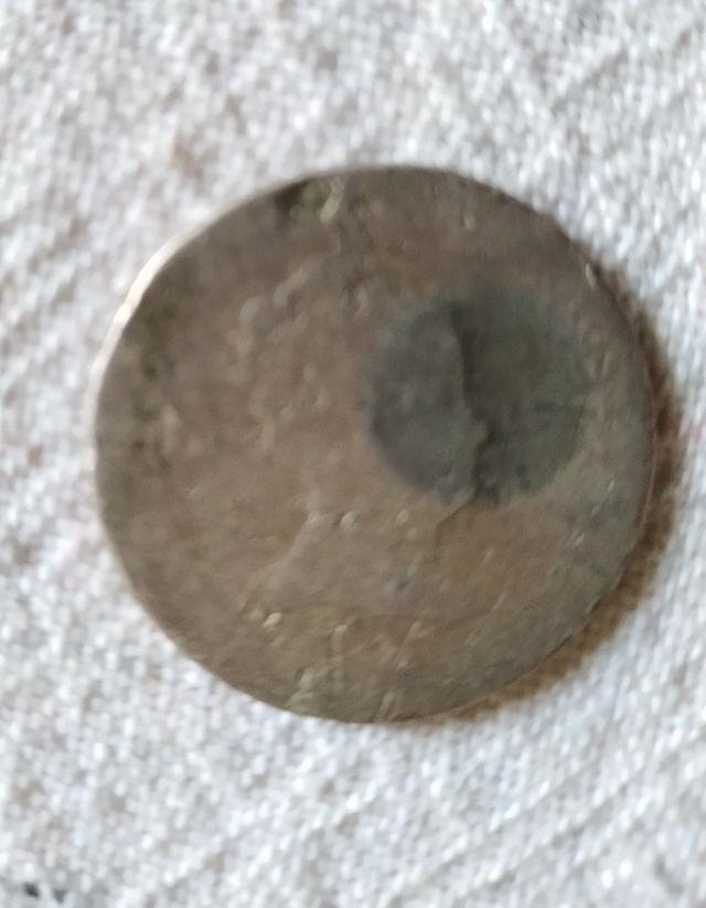 2 reales Isabel II de plata