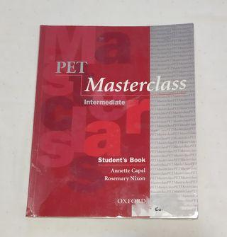 Libro inglés Pet Masterclass