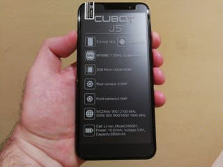 "Cubot J5 ""degradado/azul"" ""2GB/16GB"" ""NUEVO/LIBRE"""
