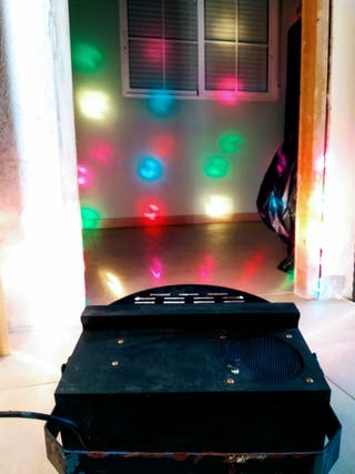 focos y luces de discoteca