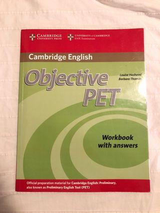 Cambridge English: Objective PET Workbook