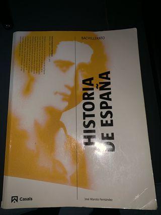 Libro historia de España