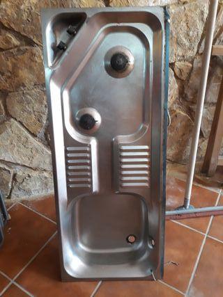 cocina caravana roller roma