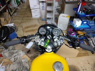 Yamaha sr 250 cafe racer