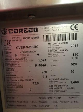 VITRINA EXPOSITORA CORECO CVEP-9-20-RC