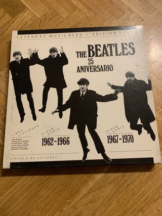 The Beatles - 25 Aniversario Vinilos