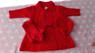 Vendo conjunto niña 3 meses + capota Dña Carmen