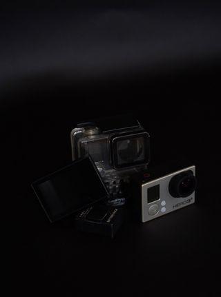 Gopro Hero 3+ Black Edition con 3 baterías y lcd