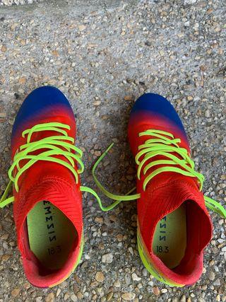 Botas fútbol Adidas talla 36 2/3