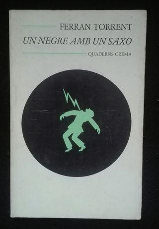 Llibre Un negre amb un saxo.