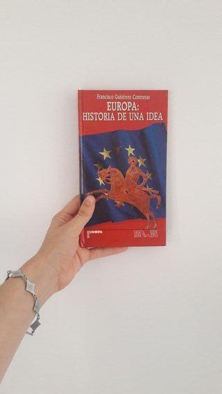 Libros de historia de Europa y España.