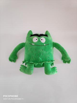 peluche el monstre de colors verd