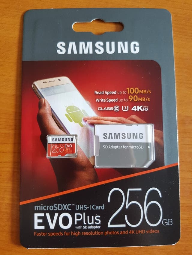 256gb micro sd card *brand new*