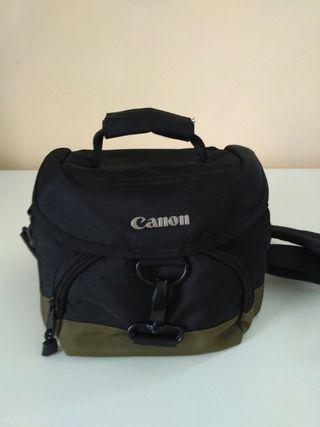 Bolsa Cámara de fotos marca Canon.