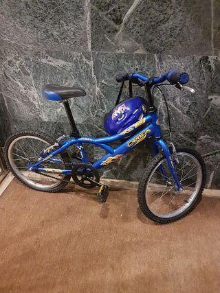 """bicicleta infantil de 18"""""""