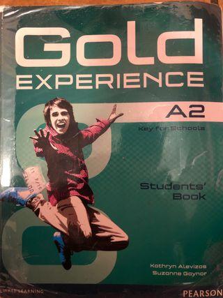 Libro de Inglés A2 GOLD EXPERIENCE