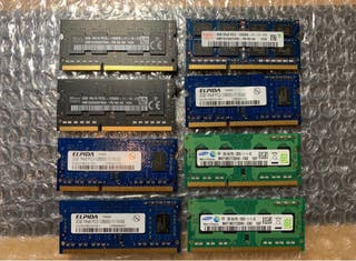 Memoria RAM Ddr3 1600Mhz MacBook, Windows...