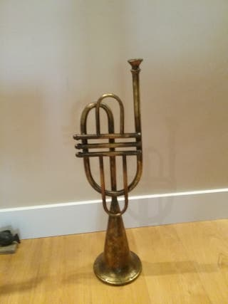 trompeta decorativa