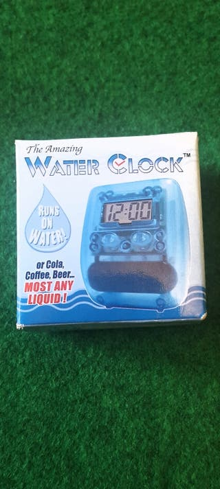 Reloj ecológico de agua NUEVO