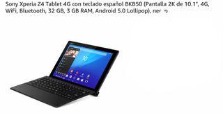 Tablet Sony Xperia Z4 Wifi + 4G