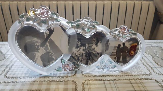 Portarretratos Walther Glass