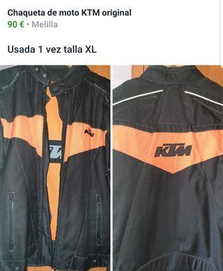 chaqueta moto ktm