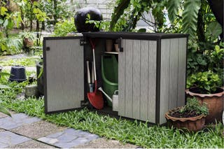 Cobertizo armario jardín Keter Duotech 1000 litros