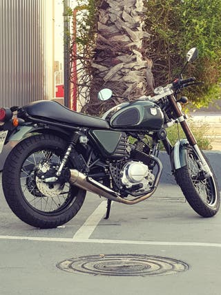 Hanway café racer 125cc