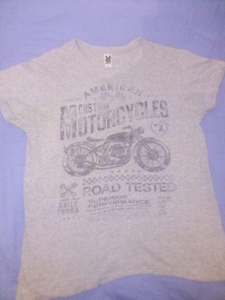 Camiseta MOTOCYCLES CUSTOM VINTAGE.