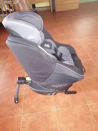 Silla de coche Spin 360° two tone black de joie