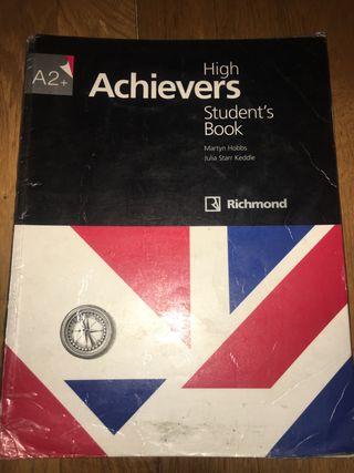 Libro de inglés achievers A2+