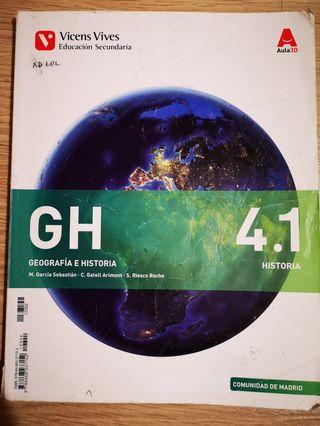 Geografia e Historia GH 4º ESO