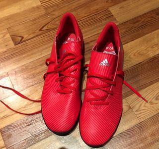 Adidas Nemeziz zapatillas fútbol talla 43