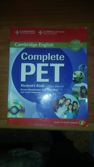 libro de inglés pet