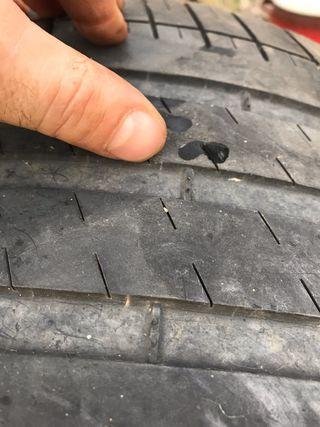Neumático usado michelin