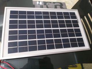 Placa solar de 10w