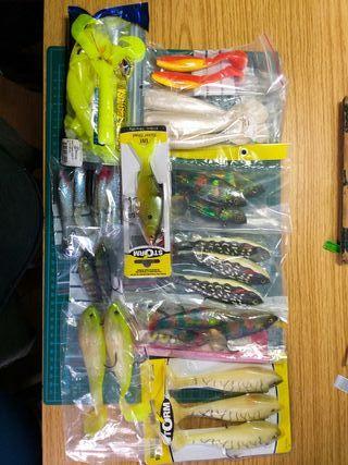 cebos de pesca vinilo