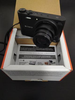 Camara de fotos Sony 20x wx 350