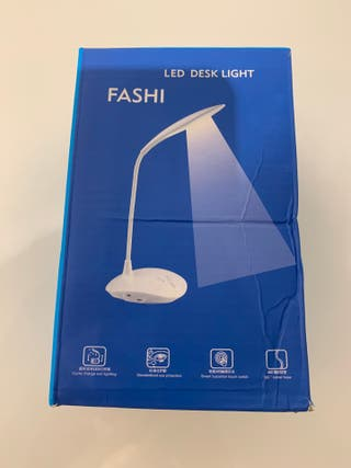 Lámpara mesa USB