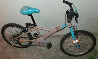 Bicicleta niña Decathlon 20'