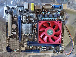 Placa base asrock + AMD phenom x4 810 + disipador