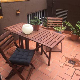 Conjunto muebles terraza/jardín