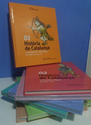 """Colección """"Historia de Catalunya"""""""
