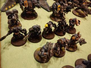 Ejercito Lobos Espaciales. Warhammer 40.000