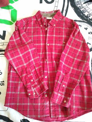 Camisa cuadros T-8