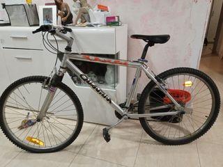 bicicleta de montaña aluminio con amortiguadores