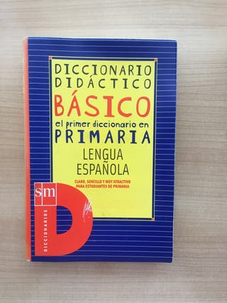 Diccionario de español para Educación Primaria.